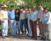 Mexican research collaborators with Dr. Eakin in Chiapas, Mexico