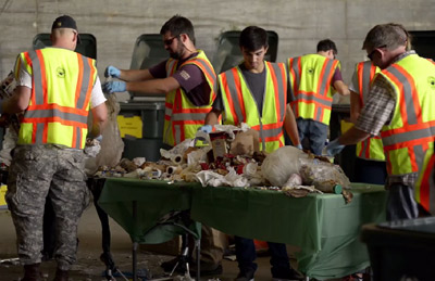 SRP and City of Phoenix conducting a waste audit