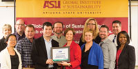 EPA Green Government Award Presentation: Honoring ASU's Sustainable Cities Network