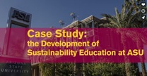 Webinar: Sustainability Education
