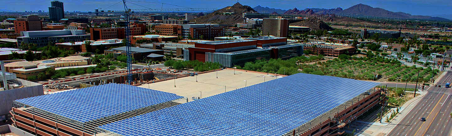 ASU Campus is a living laboratoryfor sustainability innovation