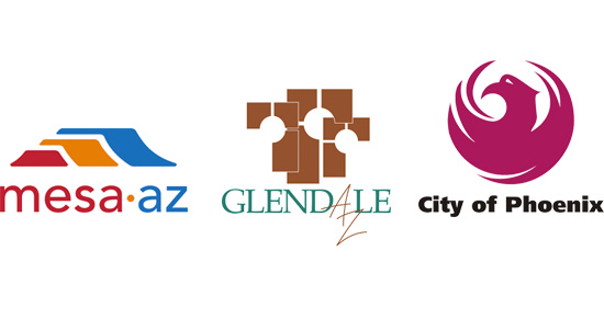 Cities of Glendale, Mesa, and Phoenix
