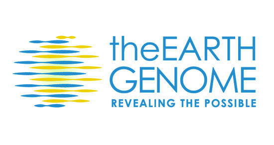 The Earth Genome logo