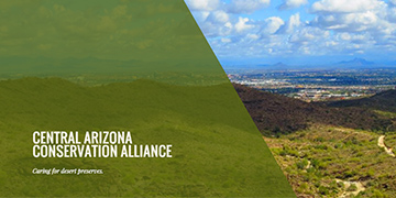 The Central Arizona Conservation Alliance Biodiversity Fellowship Logo