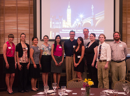 The Washington, D.C./London Global Sustainability Studies Class of 2013