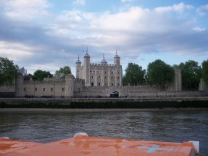 London_Tower of London from the river