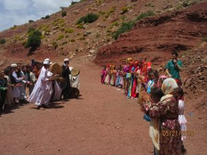Morocco_atlas mountain school children
