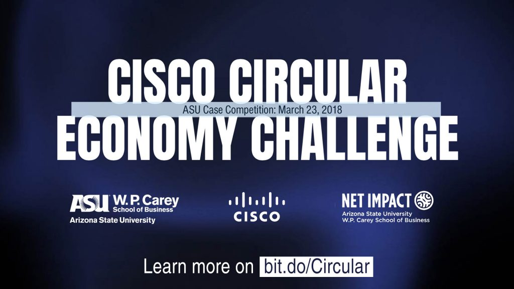 ASU Graduate Students: Call to Innovate at the Cisco Circular