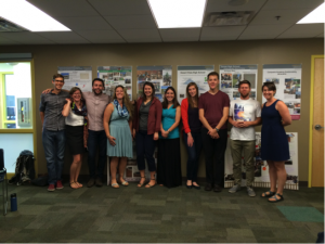 S4 Fellows and Leadership celebrate during last class of the 2014-2015 school year