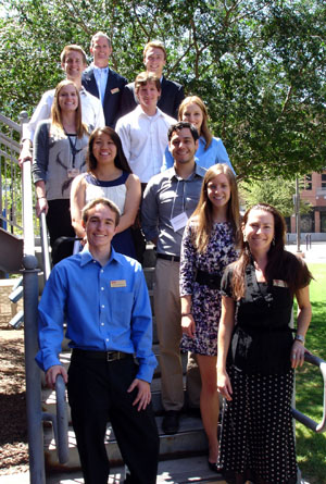 2013 ISPI Interns with Dave White and Sarah Jones