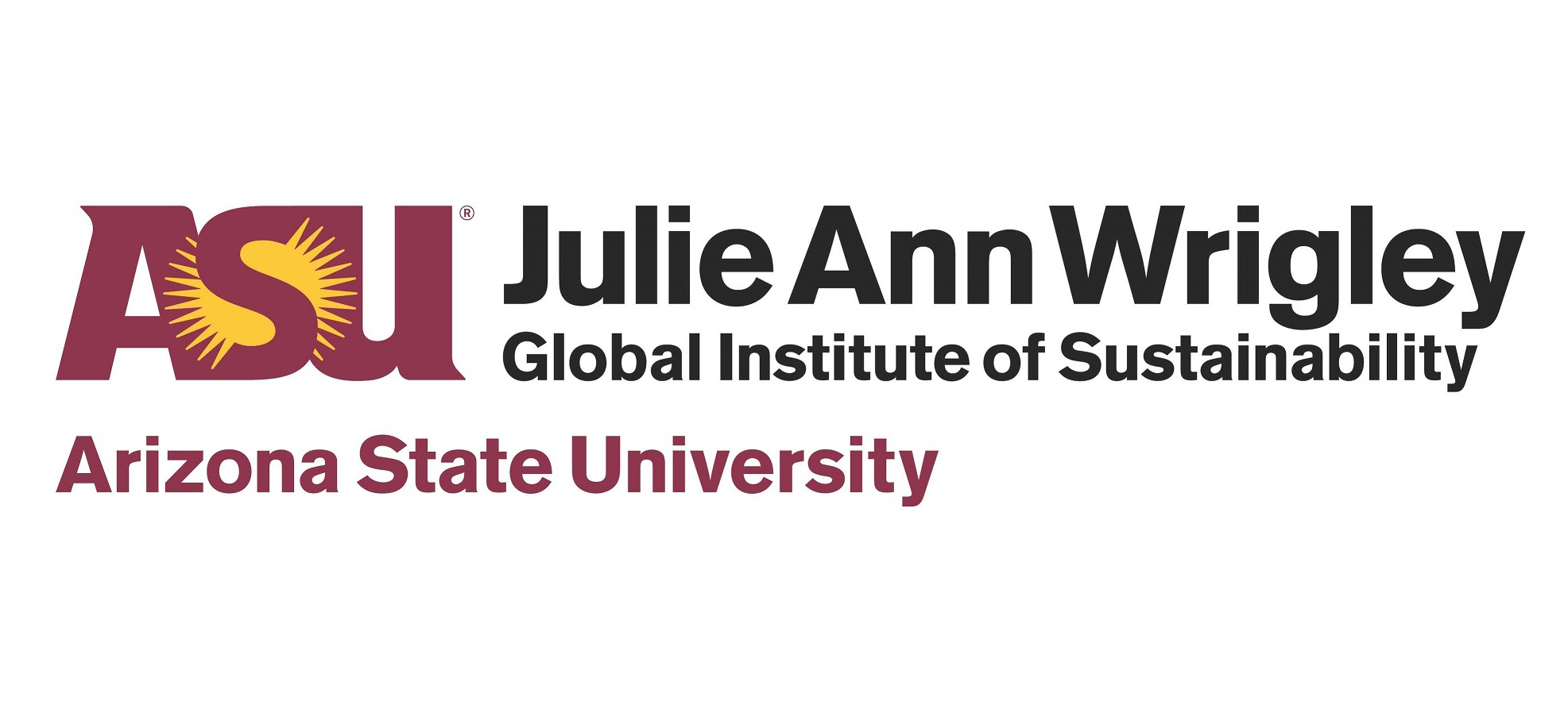 ASU's Julie Ann Wrigley Global Institute of Sustainability logo