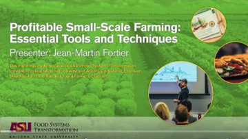 Small-Scale Farming with Jean-Martin Fortier workshop