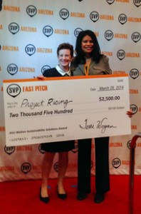 project rising sustainability solutions award