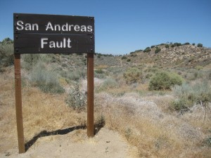San Andreas fault zoning