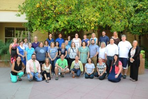 First National Sustainability Teachers' Academy cohort convene at Arizona State University.