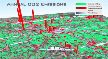 Annual CO2 Emissions Map