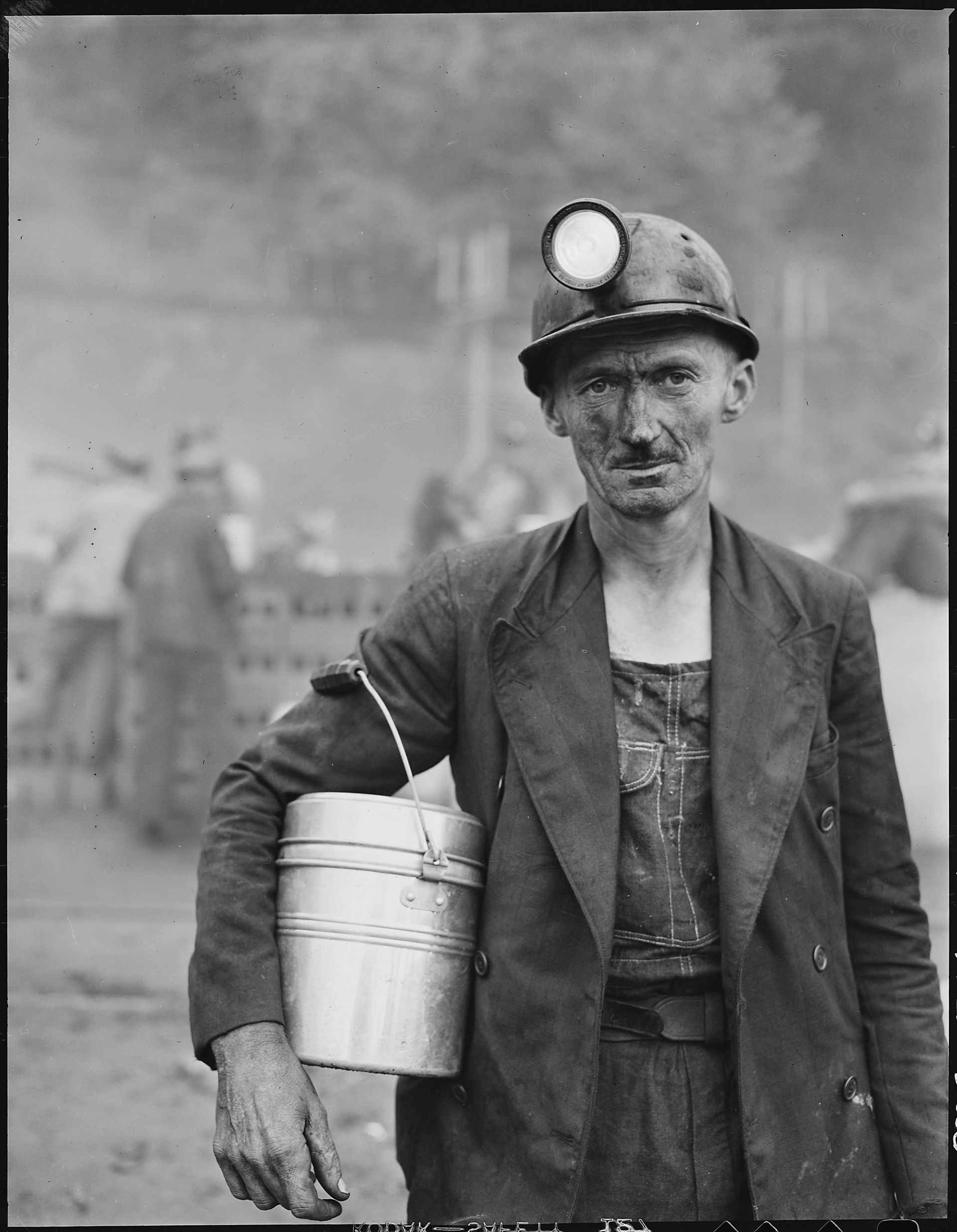 A coal miner in Floyd County, Kentucky, 1947.