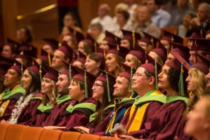 Master of Sustainability Solutions Degree graduates at sustainability convocation