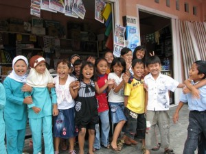 kids in Sungai P