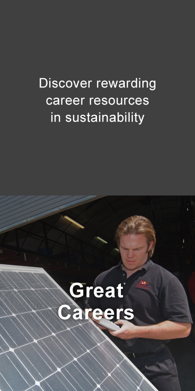 Careers. Discover rewarding career resources in sustainability.