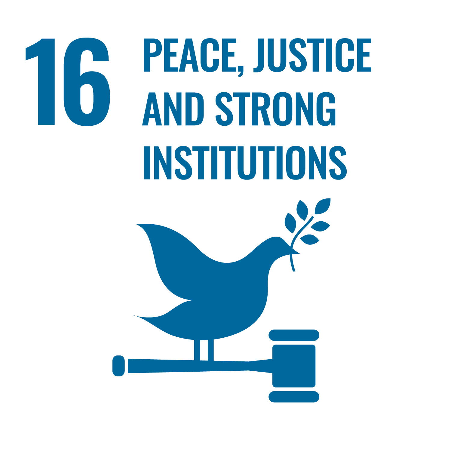 SDG16-peace and justice